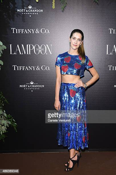Clara Alonso attends the Lampoon Gala during the 72nd Venice Film Festival at Palazzo Pisani Moretta on September 3 2015 in Venice Italy
