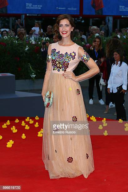 Clara Alonso attends the premiere of 'Piuma' during the 73rd Venice Film Festival at Sala Grande on September 5 2016 in Venice Italy