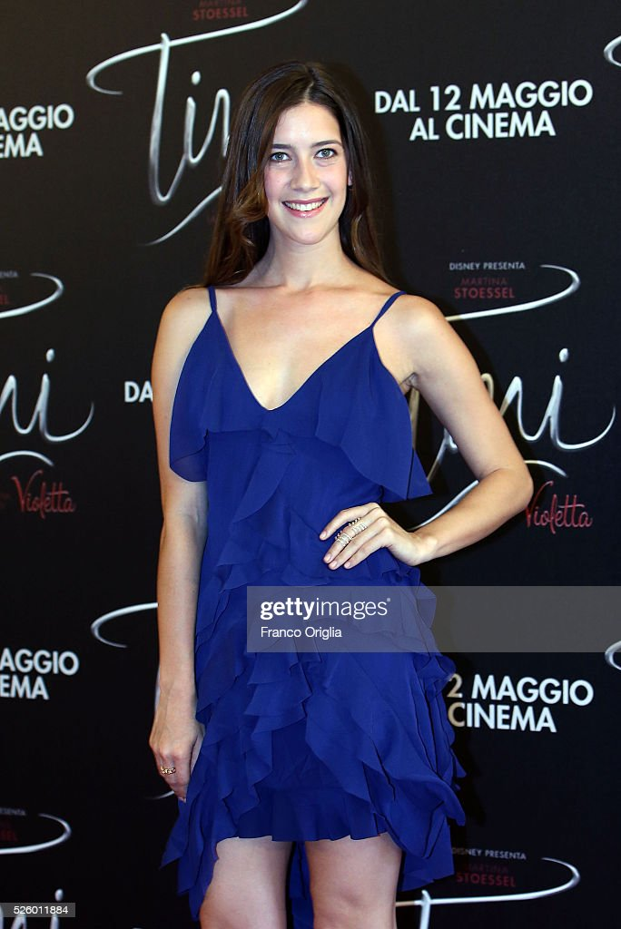 Clara Alonso attends 'Tini - The New Life Of Violetta' Photocall In Rome at Hotel Parco dei Principi on April 29, 2016 in Rome, Italy.