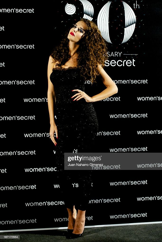 Clara Alonso attends Women'secret New Collection presentation 20th anniversary at Botanic Garden on November 6, 2013 in Madrid, Spain.