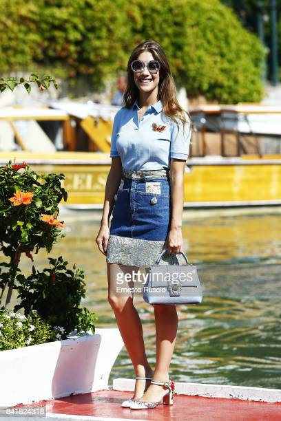 Clara Alonso is seen during the 74th Venice Film Festival Excelsior Darsena on September 2 2017 in Venice Italy