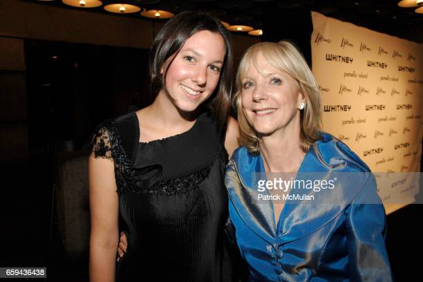 Clara Botstein and Barbara Haskell attend GEORGIA O'KEEFFE 'ABSTRACTION' Opening Reception and Dinner at The Whitney Museum on September 16 2009 in...
