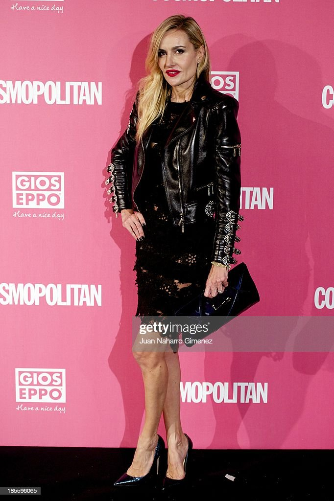 Clara Courel attends the Cosmopolitan Fun Fearless Female Awards 2013 at the Ritz Hotel on October 22, 2013 in Madrid, Spain.