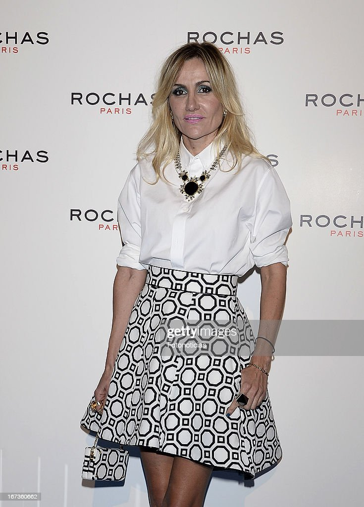 Clara Courel attends 'Tribut to Freshness and Rochas Women' event at the French embassy on April 24, 2013 in Madrid, Spain.
