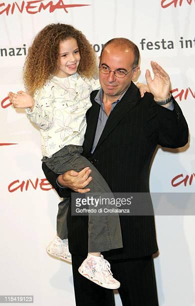 Clara Dossena and Giuseppe Tornatore during 1st Annual Rome Film Festival 'Sconosciuta' Photocall in Rome Italy