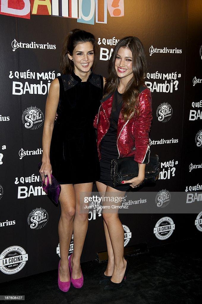 '¿Quien Mato a Bambi?' Madrid Premiere