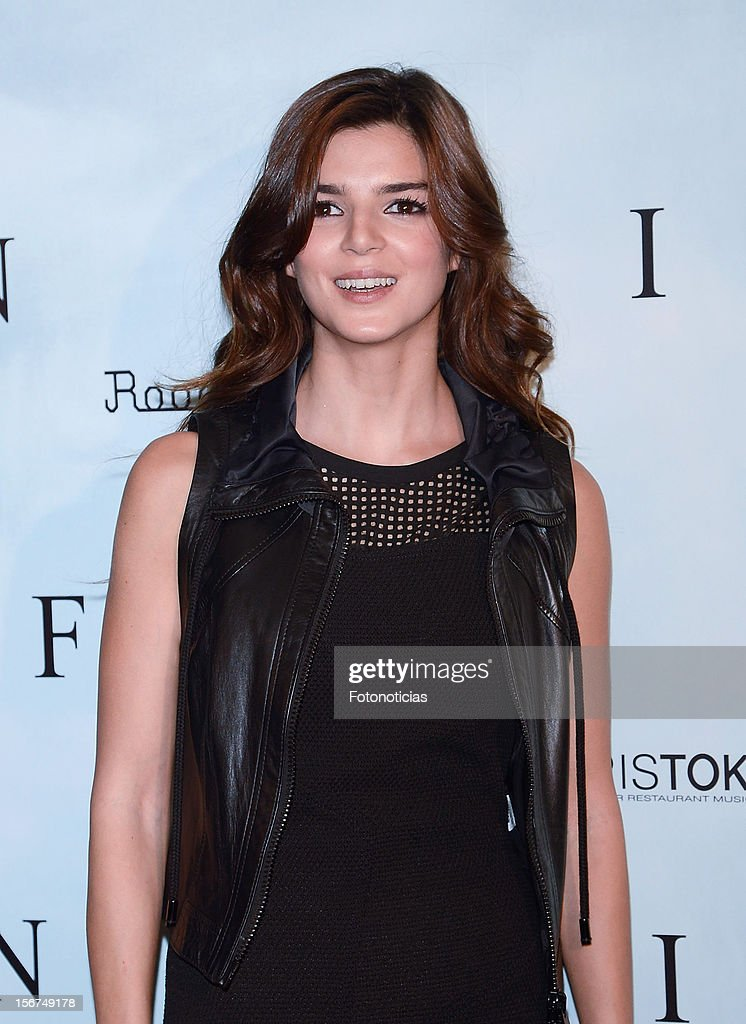 Clara Lago attends a photocall for 'Fin' at the Room Mate Oscar Hotel on November 20, 2012 in Madrid, Spain.