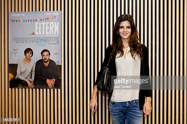 Clara Lago attends 'German Cinema Season' in Barcelona on October 12 2013 in Barcelona Spain