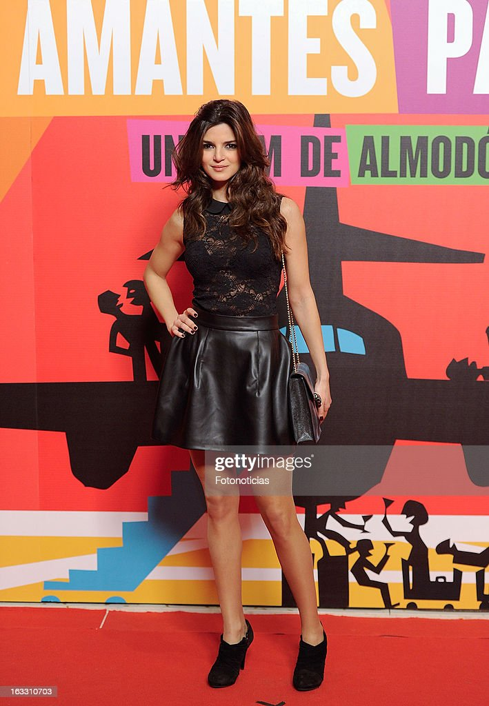 Clara Lago attends 'Los Amantes Pasajeros' premiere party at the Casino de Madrid on March 7, 2013 in Madrid, Spain.