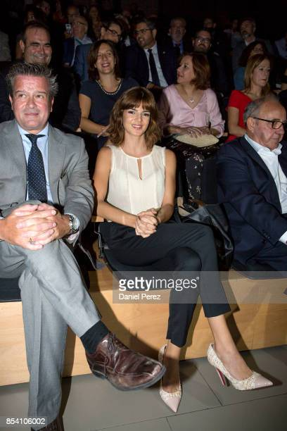 Clara Lago attends the appointment of Dani Rovira and Maria Teresa Campos Favorite and Adopted Sons of Malaga on September 26 2017 in Malaga Spain