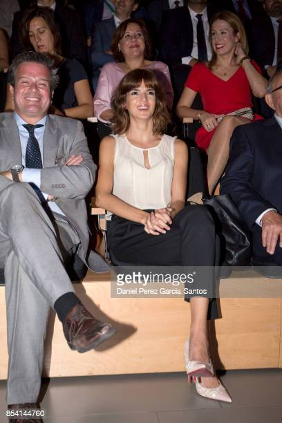 Clara Lago attends the appointment of Dani Rovira and Maria Teresa Campos as favorite and adopted sons of Malaga on September 26 2017 in Malaga Spain