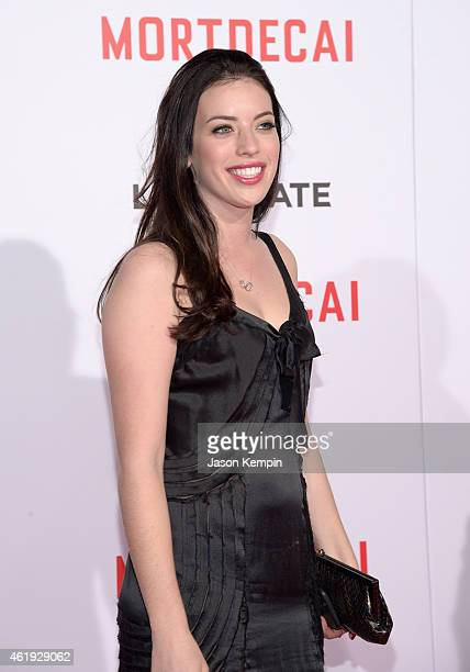 Clara McGregor attends the premiere of Lionsgate's 'Mortdecai' at TCL Chinese Theatre on January 21 2015 in Hollywood California