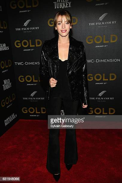 Clara McGregor attends TWCDimension with Popular Mechanics The Palm Court Wild Turkey Bourbon Host the Premiere of 'Gold' at AMC Loews Lincoln Square...