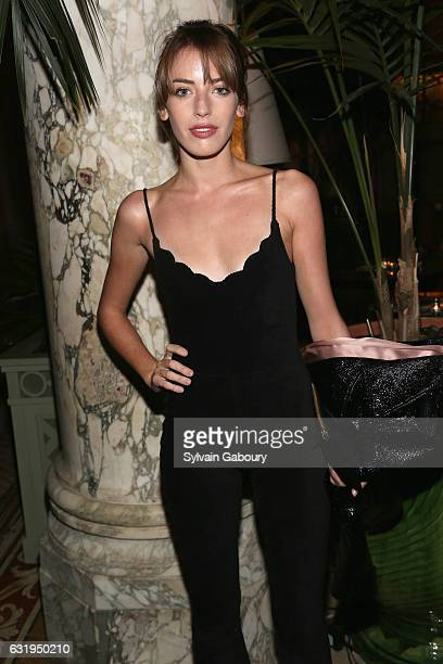 Clara McGregor attends TWCDimension with Popular Mechanics The Palm Court Wild Turkey Bourbon Host the After Party for 'Gold' at The Palm Court at...