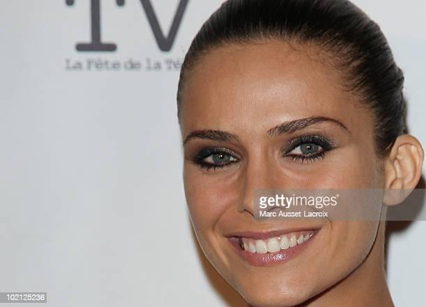 Clara Morgane attends the 1st edition of 'La Fete de la Tele' at Le Showcase on June 15 2010 in Paris France