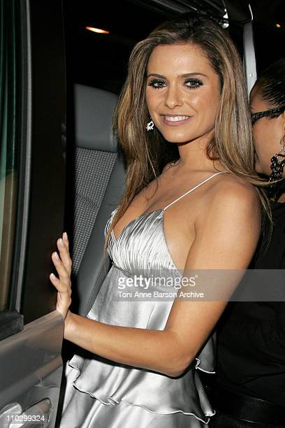 Clara Morgane during 2007 NRJ Music Awards After Show Departure in Cannes France