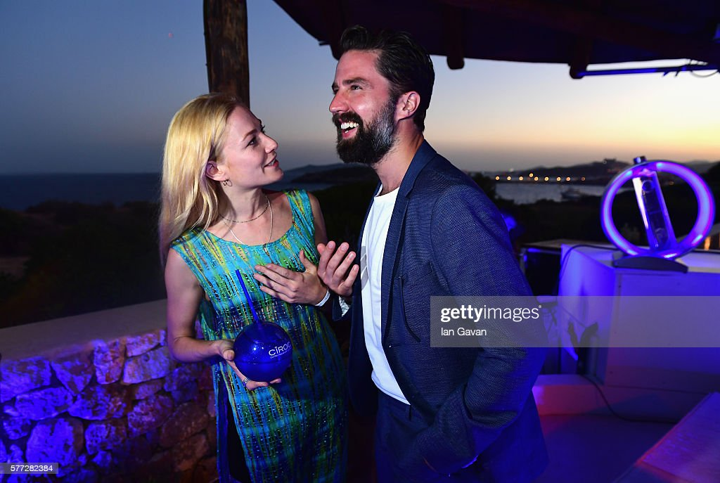 Clara Paget and Jack Guiness attend the CIROC On Arrival party in Ibiza hotspot Destino as model and DJ Amber Le Bon celebrated her arrival moment as...