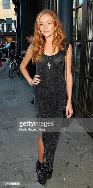 Clara Paget attending the Warner and Esquire Magazine summer party on July 18 2013 in London England