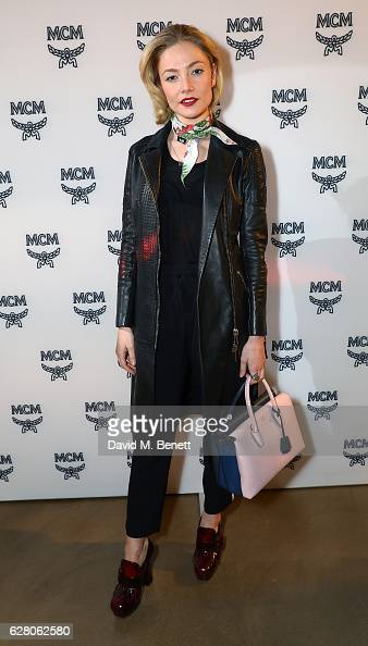 Clara Paget attends MCM's London Flagship Opening Party on December 6 2016 in London England