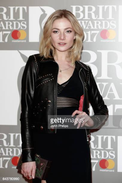 Clara Paget attends The BRIT Awards 2017 at The O2 Arena on February 22 2017 in London England