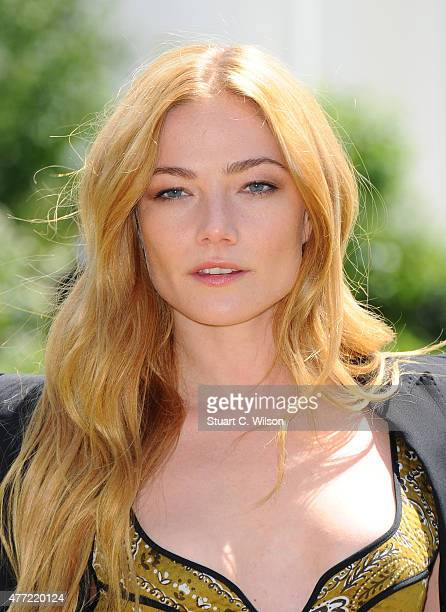 Clara Paget attends the Burberry Prorsum show during The London Collections Men SS16 at on June 15 2015 in London England