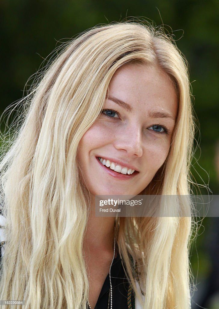 Clara Paget attends the Burberry Prorsum show on day 4 of London Fashion Week Spring/Summer 2013, on September 17, 2012 in London, England.