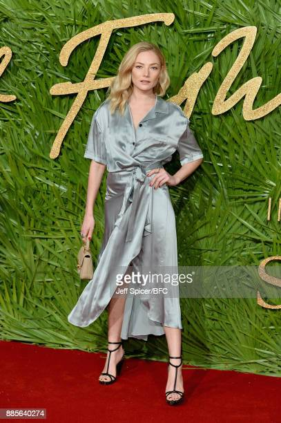 Clara Paget attends The Fashion Awards 2017 in partnership with Swarovski at Royal Albert Hall on December 4 2017 in London England