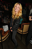 Clara Paget attends the Massive Attack after party at 100 Wardour St following their performance at the Barclaycard British Summer Time Festival on...