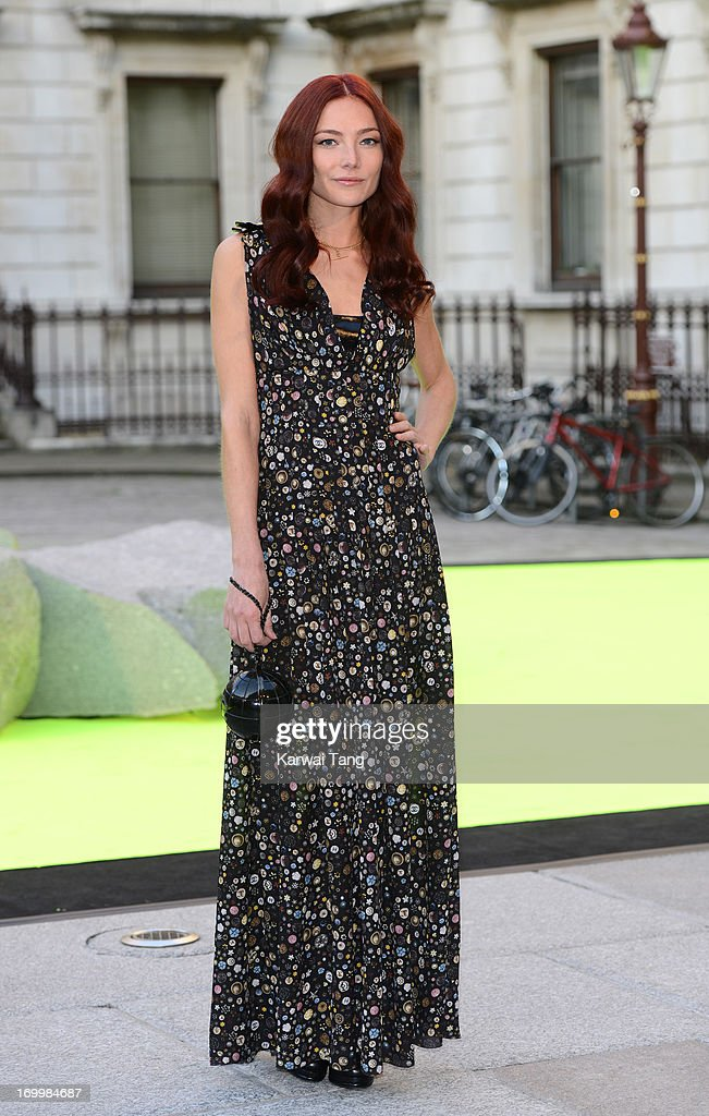 Clara Paget attends the preview party for The Royal Academy Of Arts Summer Exhibition 2013 at Royal Academy of Arts on June 5, 2013 in London, England.