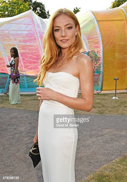 Clara Paget attends The Serpentine Gallery summer party at The Serpentine Gallery on July 2 2015 in London England