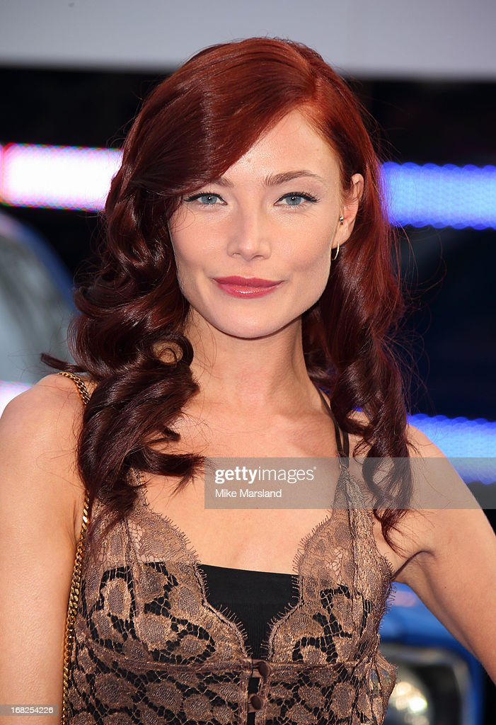 Clara Paget attends the World Premiere of 'Fast & Furious 6' at Empire Leicester Square on May 7, 2013 in London, England.