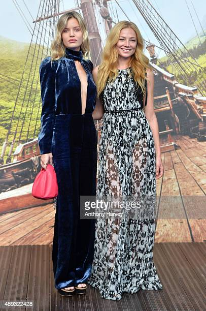 Clara Paget attends the World Premiere of 'Pan' at Odeon Leicester Square on September 20 2015 in London England