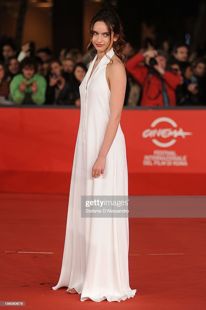Clara Ponsot attends 'Cosimo E Nicole' Premiere during The 7th Rome Film Festival on November 16, 2012 in Rome, Italy.