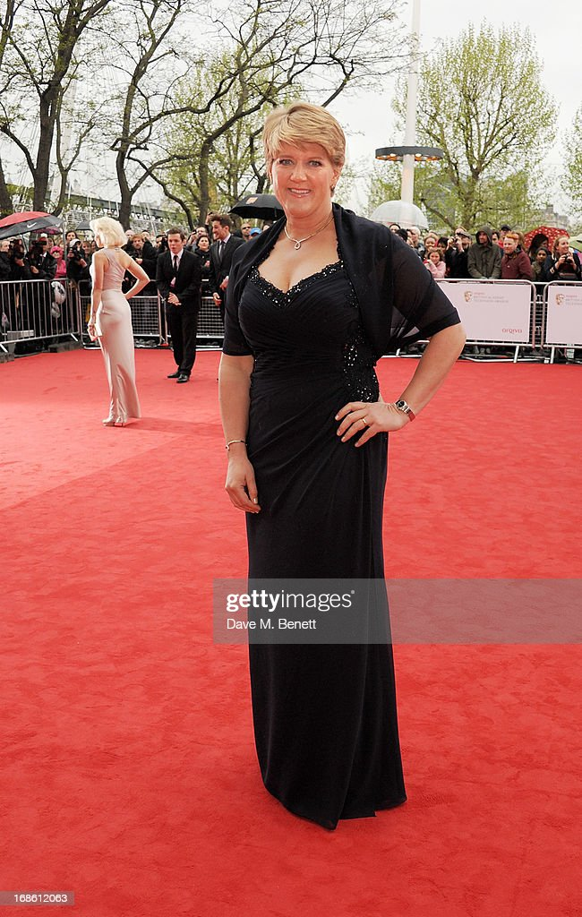 Clare Balding attends the Arqiva British Academy Television Awards 2013 at the Royal Festival Hall on May 12, 2013 in London, England.