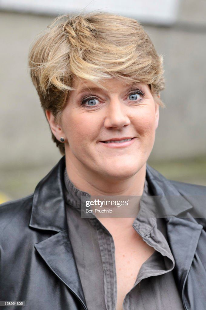 Clare Balding sighted departing ITV Studios on January 4, 2013 in London, England.