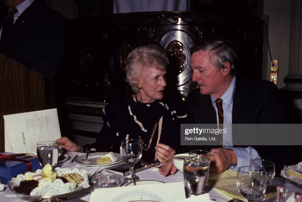 <a gi-track='captionPersonalityLinkClicked' href=/galleries/search?phrase=Clare+Boothe+Luce&family=editorial&specificpeople=212742 ng-click='$event.stopPropagation()'>Clare Boothe Luce</a> and <a gi-track='captionPersonalityLinkClicked' href=/galleries/search?phrase=William+F.+Buckley+Jr.&family=editorial&specificpeople=961383 ng-click='$event.stopPropagation()'>William F. Buckley Jr.</a> during USO of Metro New York Honors Claire Booth Luce Women of the Year Luncheon at Plaza Hotel Grand Ball Room in New York City, New York, United States.