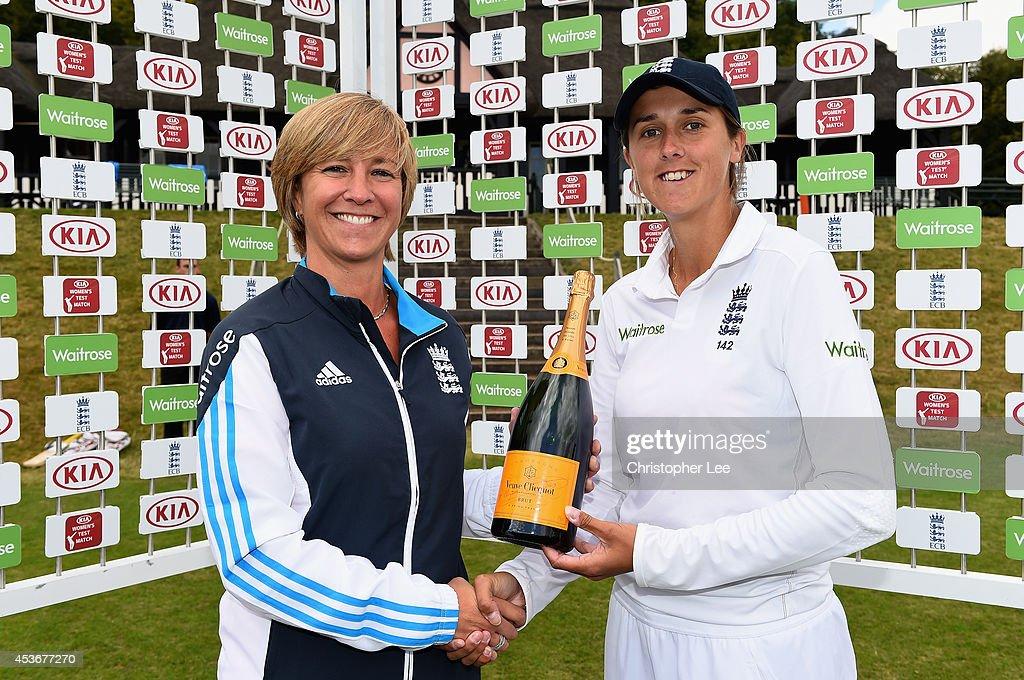 England Women v India Women Test Match 2014 - Day Four
