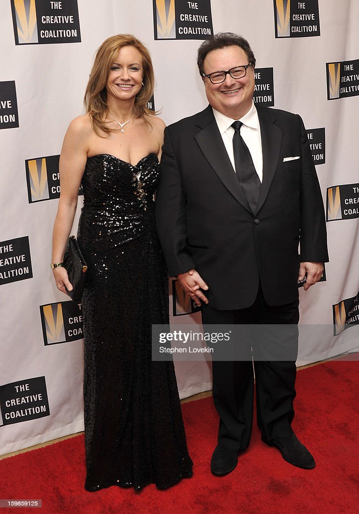 Clare De Chenu and Wayne Knight attend The Creative Coalition's 2013 Inaugural Ball at the Harman Center for the Arts on January 21, 2013 in Washington, United States.