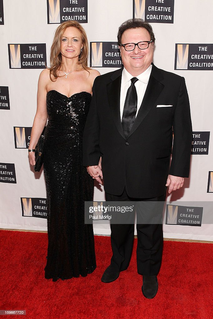 Clare De Chenu and Wayne Knight attend The Creative Coalition's 2013 Inaugural Ball on January 21, 2013 in Washington, United States.