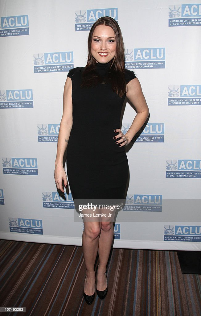 Clare Grant attends the ACLU of Southern California's 2012 Bill of Rights Dinner held at the Beverly Wilshire Four Seasons Hotel on December 3, 2012 in Beverly Hills, California.