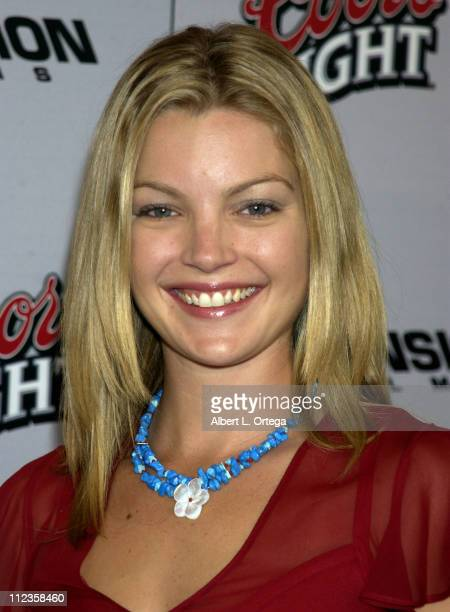 Clare Kramer during 'Halloween Resurrection' Premiere at Mann's Festival Theater in Westwood California United States