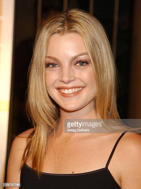 Clare Kramer during 'The Rules of Attraction' Premiere Arrivals at The Egyptian Theatre in Hollywood California United States