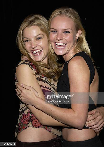 Clare Kramer Kate Bosworth during 'The Rules Of Attraction' Screening at Egyptian Theatre in Hollywood California United States