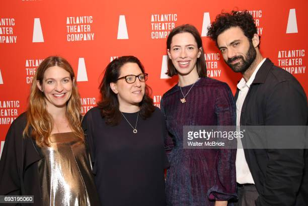 Clare Lizzimore Gayle Taylor Upchurch Rebecca Hall and Morgan Spector attends the Opening Night of the Atlantic Theater Company's New York Premier...