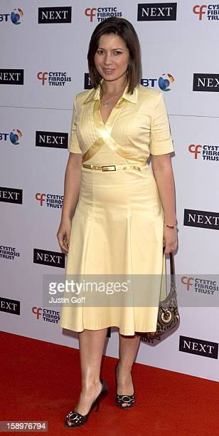 Clare Nasir Attends The Cystic Fibrosis Trust Breathing Life Awards At London'S Royal Lancaster Hotel