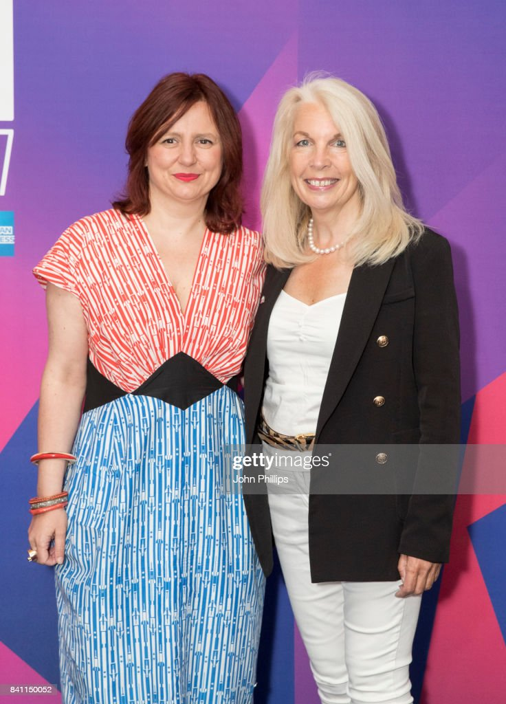 Clare Stewart and Amanda Nevill attend the BFI London Film Festival programme launch at Odeon Leicester Square on August 31, 2017 in London, England.