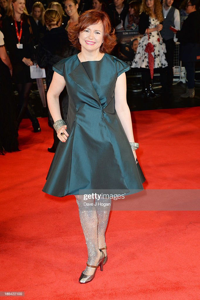 Clare Stewart attends the Closing Night Gala European Premiere of 'Saving Mr Banks' on the closing night gala during the 57th BFI London Film Festival at The Odeon Leicester Square on October 20, 2013 in London, England.