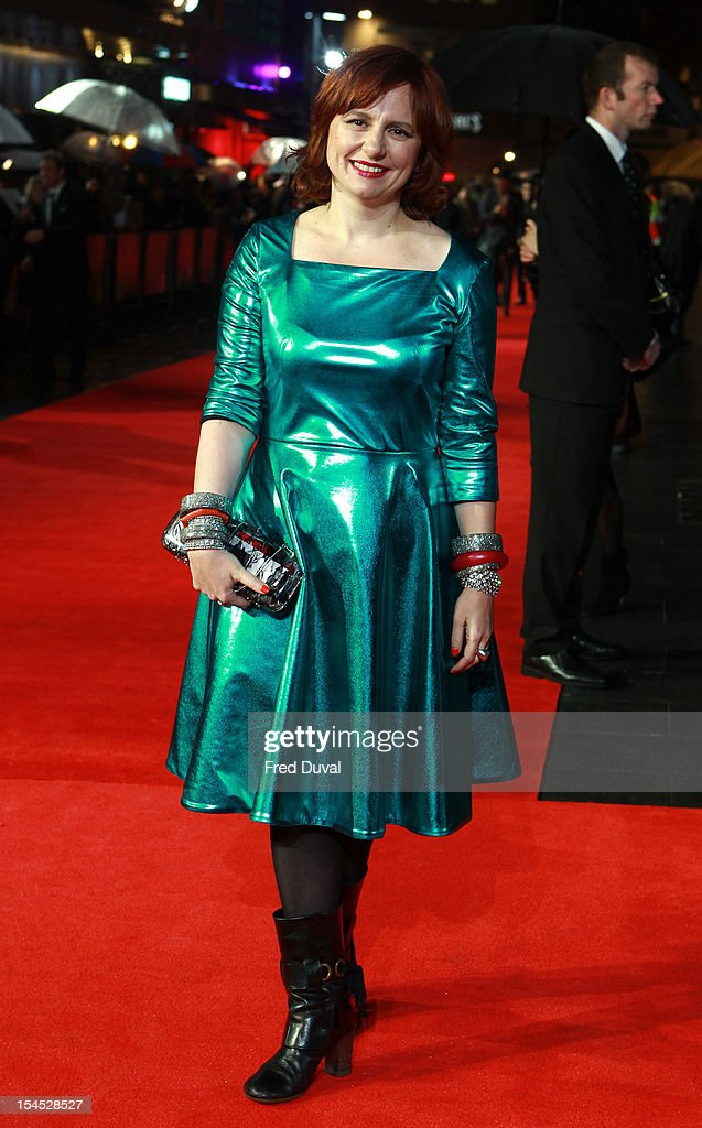 Clare Stewart attends the premiere of 'Great Expectations' which closes the 56th BFI London Film Festival at Odeon Leicester Square on October 21, 2012 in London, England.