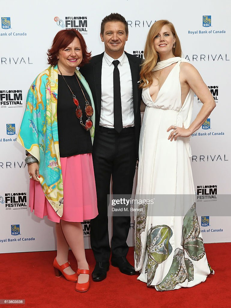 'Arrival' - Royal Bank Of Canada Gala - 60th BFI London Film Festival - VIP Arrivals