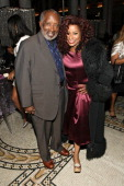 Clarence Avant and Chaka Khan attend BET Honors 2013 Debra Lee PreDinner at The Library of Congress on January 11 2013 in Washington DC